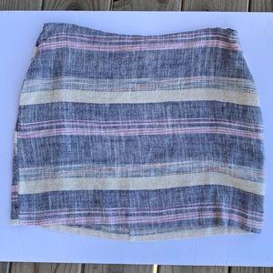 Lira   Striped Skirt